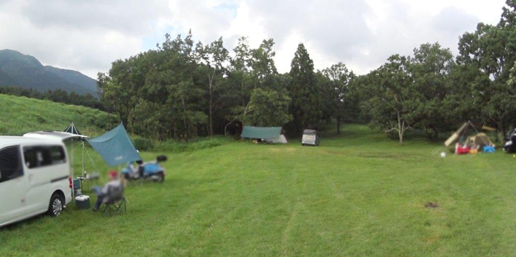 瀬の本高原オートキャンプ場