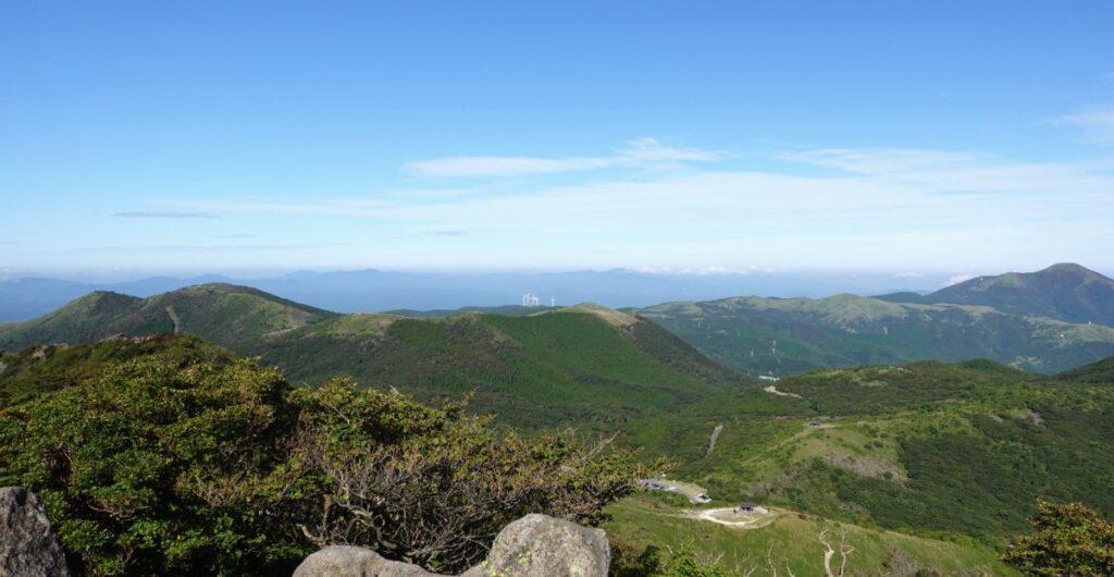 沓掛山からの景色