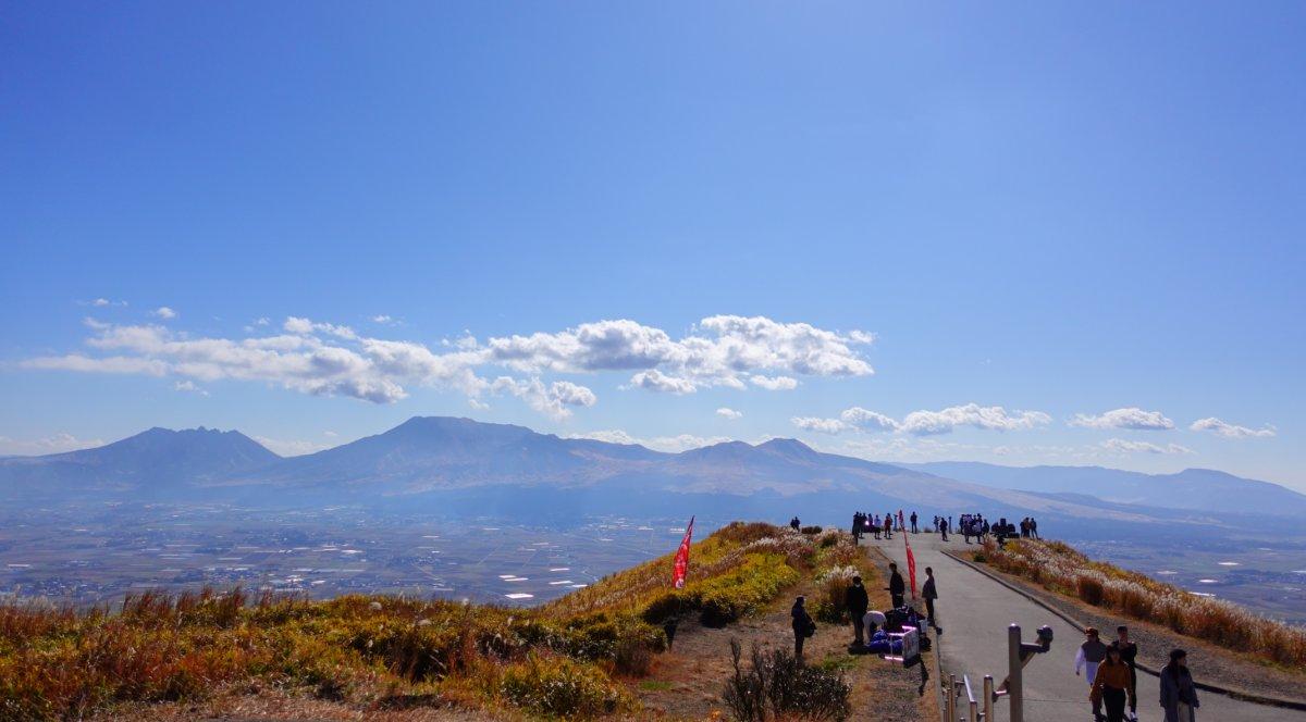 阿蘇大観峰展望所