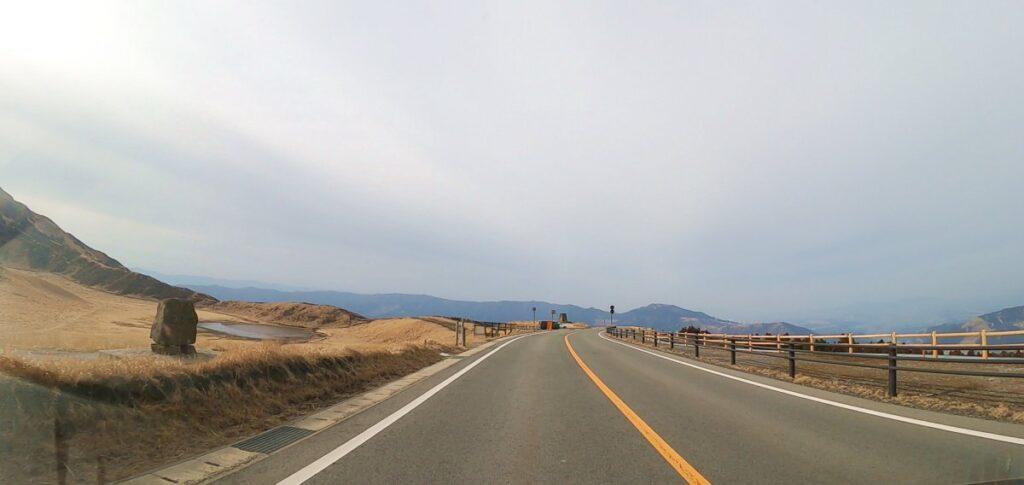 阿蘇山草千里ヶ浜の展望台
